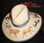 Baldwin Named Champion Maker of Hats, Art of the Cowboy Makers, 2013