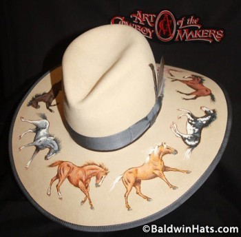 Colors of the Horse, Baldwin & Godby's 2013 Hat entry.