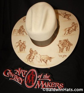 Rodeo Events, Baldwin & Godby's Hat Maker entry, 2013.