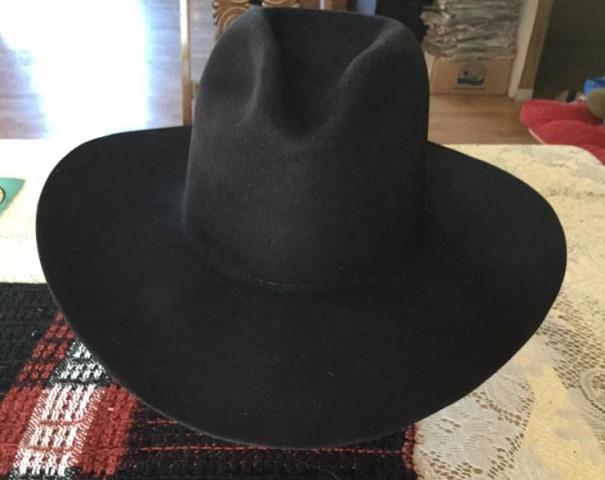 Cowboy hat after renovation