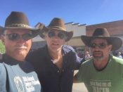 A couple of Baldwin's hats attend Longmire days