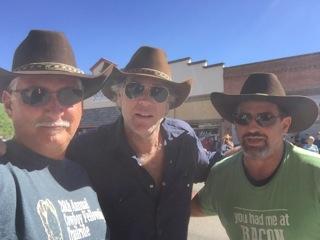 Longmire hats with Sheriff Longmire