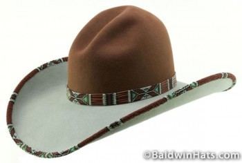 "Glendolene,"" the hat that Baldwin made for the competition. photo by Lynn Woodward"