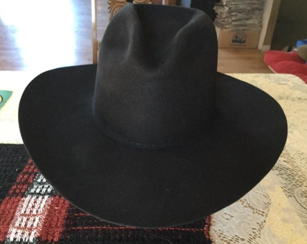 Cowboy hat after renovation