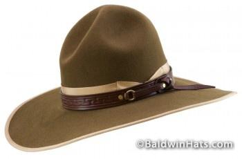 """""""Chisholm Trail Boss"""" hat by Gene Baldwin."""