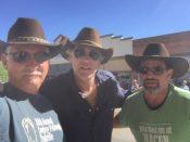 A couple of Baldwin's hats attend Longmire days